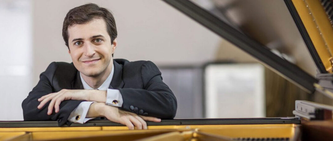 Pianist Ken Broberg, 2017 Cliburn Silver Medalist